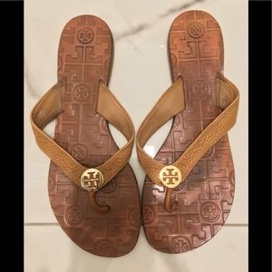 Tory Burch Thora signature leather sandal